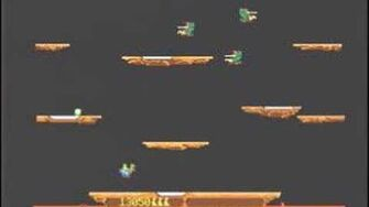 Classic Game Room reviews JOUST for Playstation 1