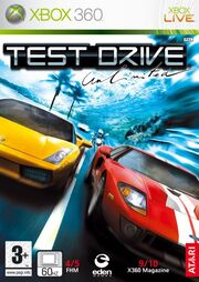 Test Drive Unlimited Box Art