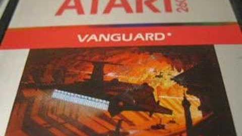 Classic Game Room - VANGUARD review for Atari 2600
