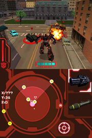 Transformers 2 DS Decepticons Edition Gameplay