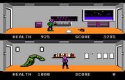 Xenophobe 7800 Gameplay