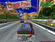 Daytona USA Gameplay