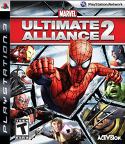 Marvel Ultimate Alliance 2 Box Art