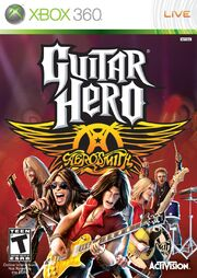 Guitar Hero Aerosmith Box Art