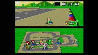 Classic Game Room HD - SUPER MARIO KART for SNES review