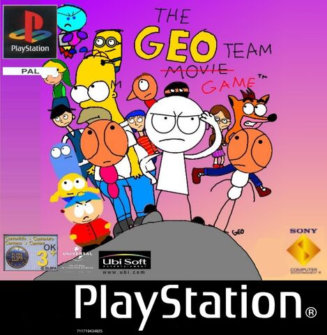 File:The Geo Team Game PS1 PAL cover art.jpg
