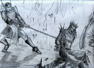 Tulkas drags Melkor