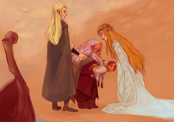 Gimli and Galadriel