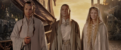 Elves head to Valinor