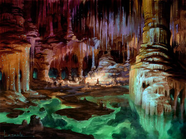 The Glittering Caves