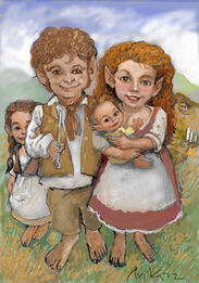Family of hobbits
