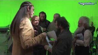 Vietsub Hậu trường The Hobbit Vua hài Elrond-2