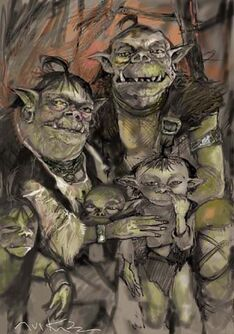 Family-of-orcs