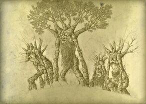 The Last march of the Ents by Aureliopoelio