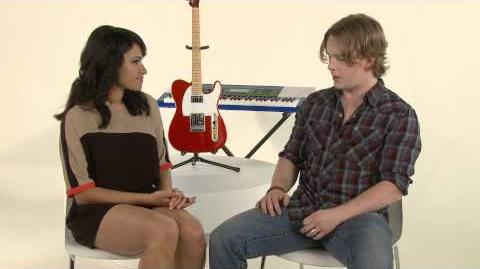 The Glee Project Season 2 -- Maxfield Interview