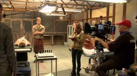 The Host - BTS - The Cave