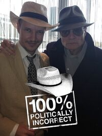 Tom Six and Dieter Laser