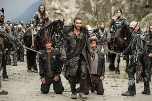 The Tinder Box (Roan, Kane, Bellamy and Echo)