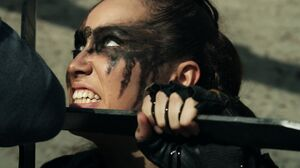 The100 S3 Watch The Thrones Lexa 2
