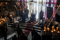 Colaition Lexa throne room