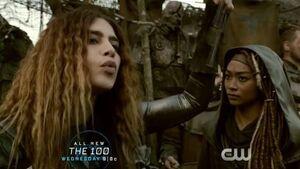 The 100 4x10 - Gaia & Luna