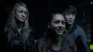 The100 S3 Perverse Instantiation 2 Harper Raven Monty