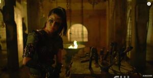 The 100 4x10 - Octavia pic 2