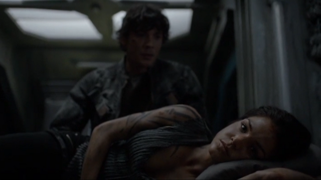 File:The 100 S4 episode 6 -Octavia & Bellamy.png