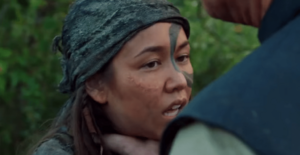The-100 Wanheda (part 2) Gideon chokes Emori