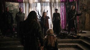 The100 S3 Wanheda Part 2 Roan Clarke Lexa Titus Indra