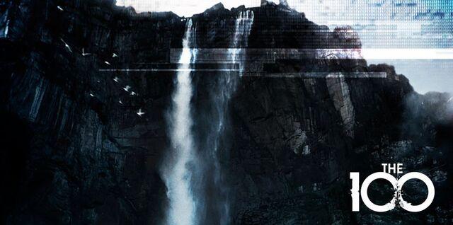 File:The-100-Waterfall-Season-1-Promotional-Poster.jpg