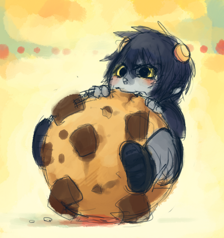 File:Karkat viciously attack cookie by karkat vantas-d31pt3q.png
