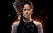 Jennifer lawrence as katniss-wide
