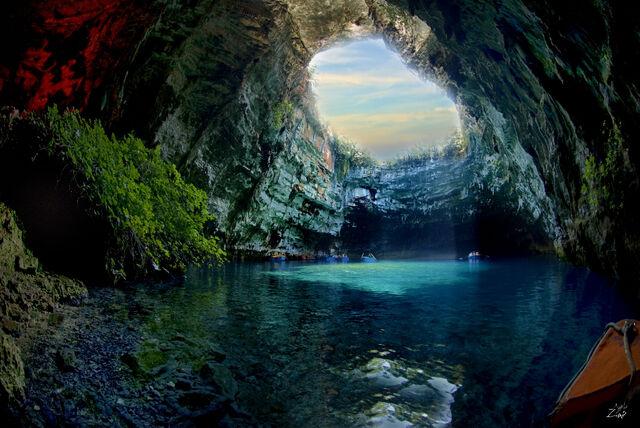 File:Mellisani cave greece2.jpg
