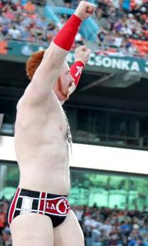 File:Sheamus rasing his hands at wrestlemaina.PNG