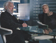 Snow plutarch control room