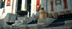 Pressie on Podium