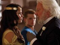 Katniss snow crown