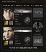 District 6 Tributes