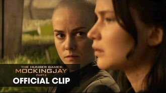 "The Hunger Games Mockingjay Part 2 Official Clip – ""Old Friends"""