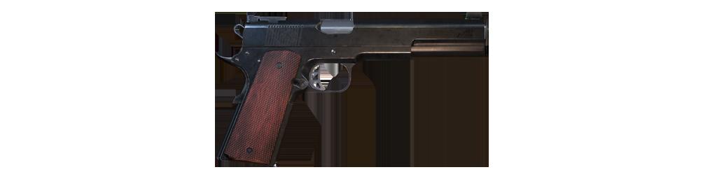 10mm semi-auto pistol