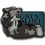 Grey wolf badge