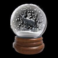 Snowglobe hematit