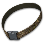 Dog collar fall field camo