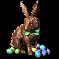 Easter 2016 Bunny Bronze