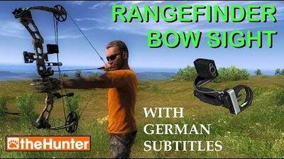 TheHunter 25-Pin Rangefinder Bow Sight (English German)