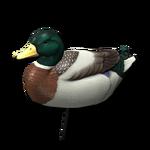 Decoy mallard male 256