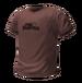 Basic tshirt plain brown 256