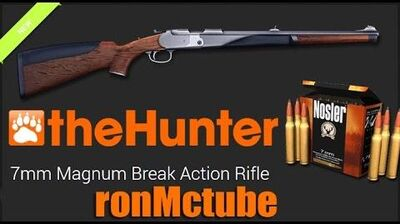 TheHunter 7mm Magnum Break Action Rifle ( Stambecco ) 60fps