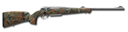 Bolt action rifle anschutz 9x63 256